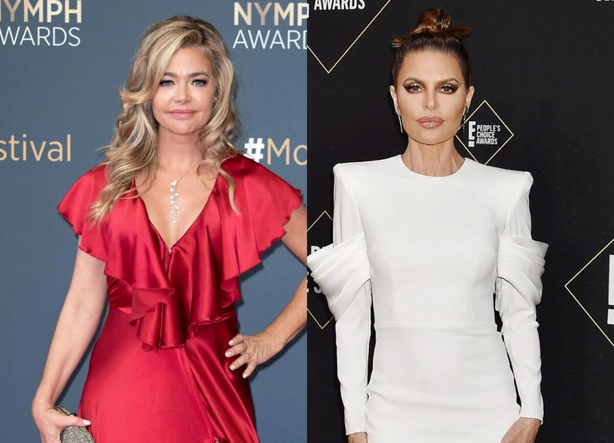 """Denise Richards Tells a Tearful Lisa Rinna She's """"Coming Off as a Mean Friend"""" and Says She's """"Done,"""" Leaving the Rome Trip in a RHOBH Sneak Preview"""