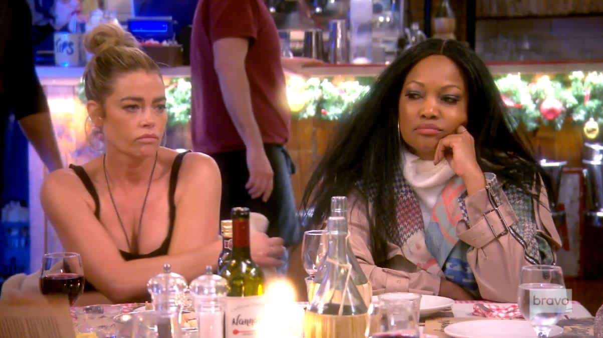 "RHOBH Recap: Producer Intervenes When Denise Tries to Leave Group Dinner After Calls Ladies ""Mean Girls"""