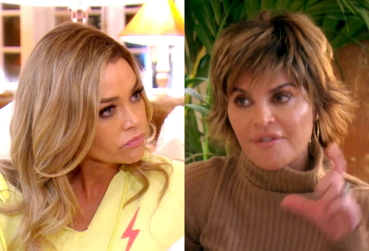 RHOBH Recap: Lisa Rinna Confronts Denise Over Cease and Desist as Denise is a No-Show at Dorit's Housewarming Party
