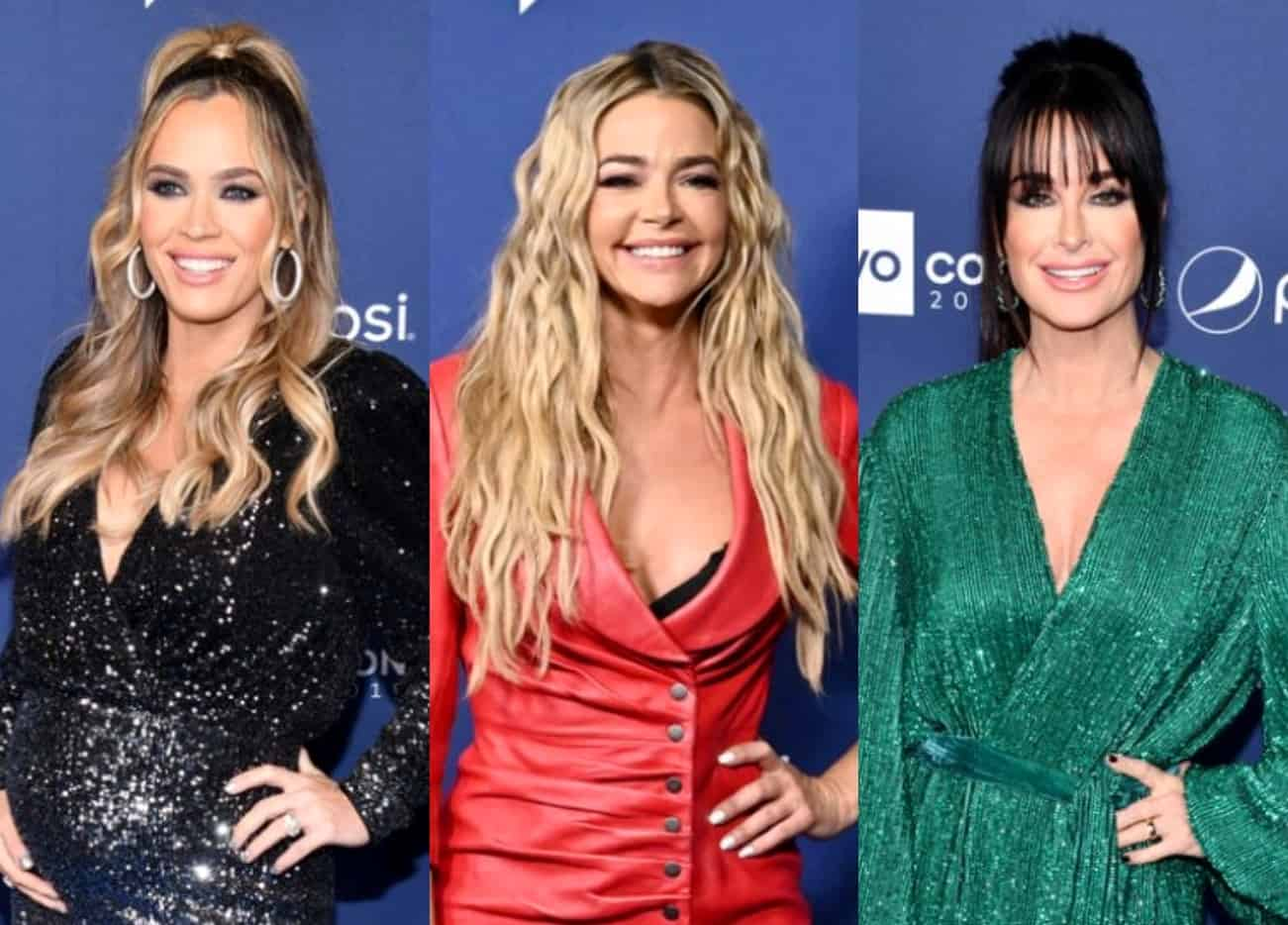"RHOBH's Teddi Mellencamp Responds to Diss of Living in Dad's Shadow, Slams Denise for Being ""Petty"" as She and Kyle React to Claim They 'Outed' Denise, Plus Live Viewing Thread!"