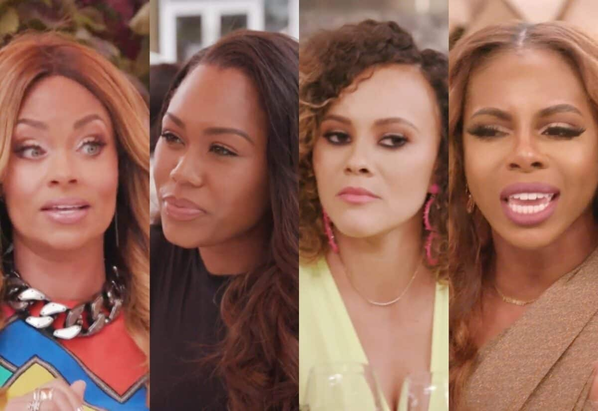 RHOP Recap: Gizelle Shares The Cheating Rumor Involving Monique And The Ladies Celebrate Ashley, Plus Candiace Feels Attacked at Dinner