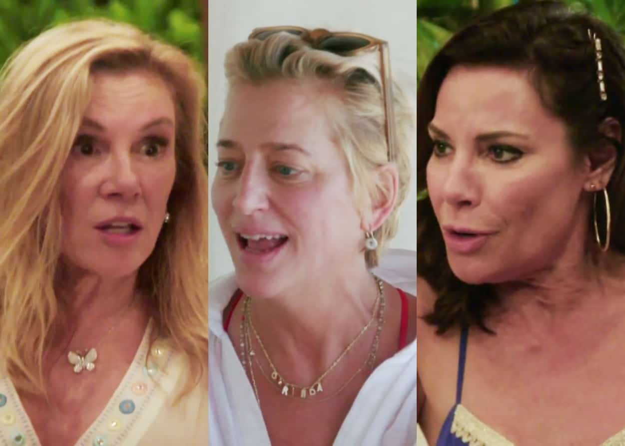 RHONY Recap: Ramona And Dorinda Clash In Mexico Over Excessive Drinking!