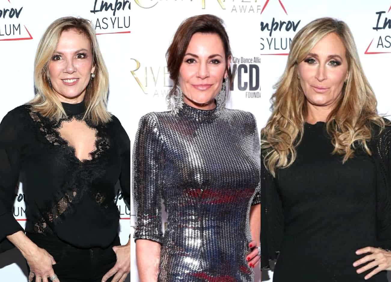 "Ramona Singer Calls Out ""The Divas"" Luann de Lesseps and Sonja Morgan For Arriving Late to the RHONY Season 12 Reunion, Plus See Behind-the-Scenes Pics From the Ladies!"