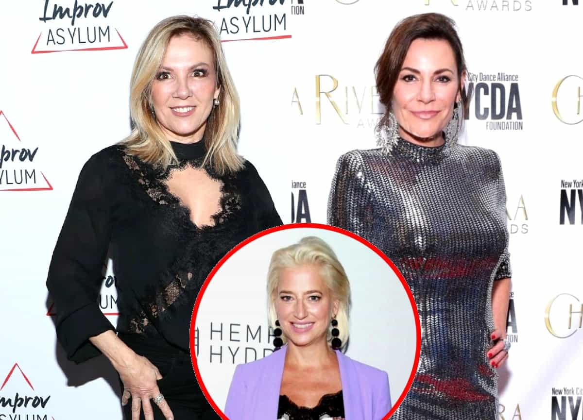 "Ramona Singer and Luann de Lesseps ""Fighting"" to Stay on RHONY Following Dorinda Medley's Exit According to New Report"