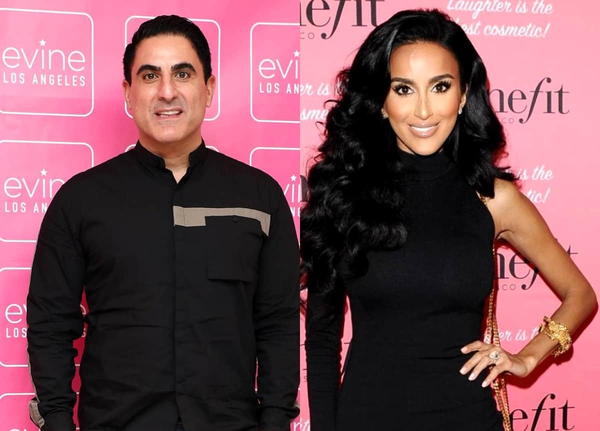 "Shahs of Sunset's Reza Farahan Sends Well-Wishes to Lilly Ghalichi Amid Divorce Drama, See How She Responded as Destiney Rose and Golnesa ""GG"" Gharachedaghi Weigh In"