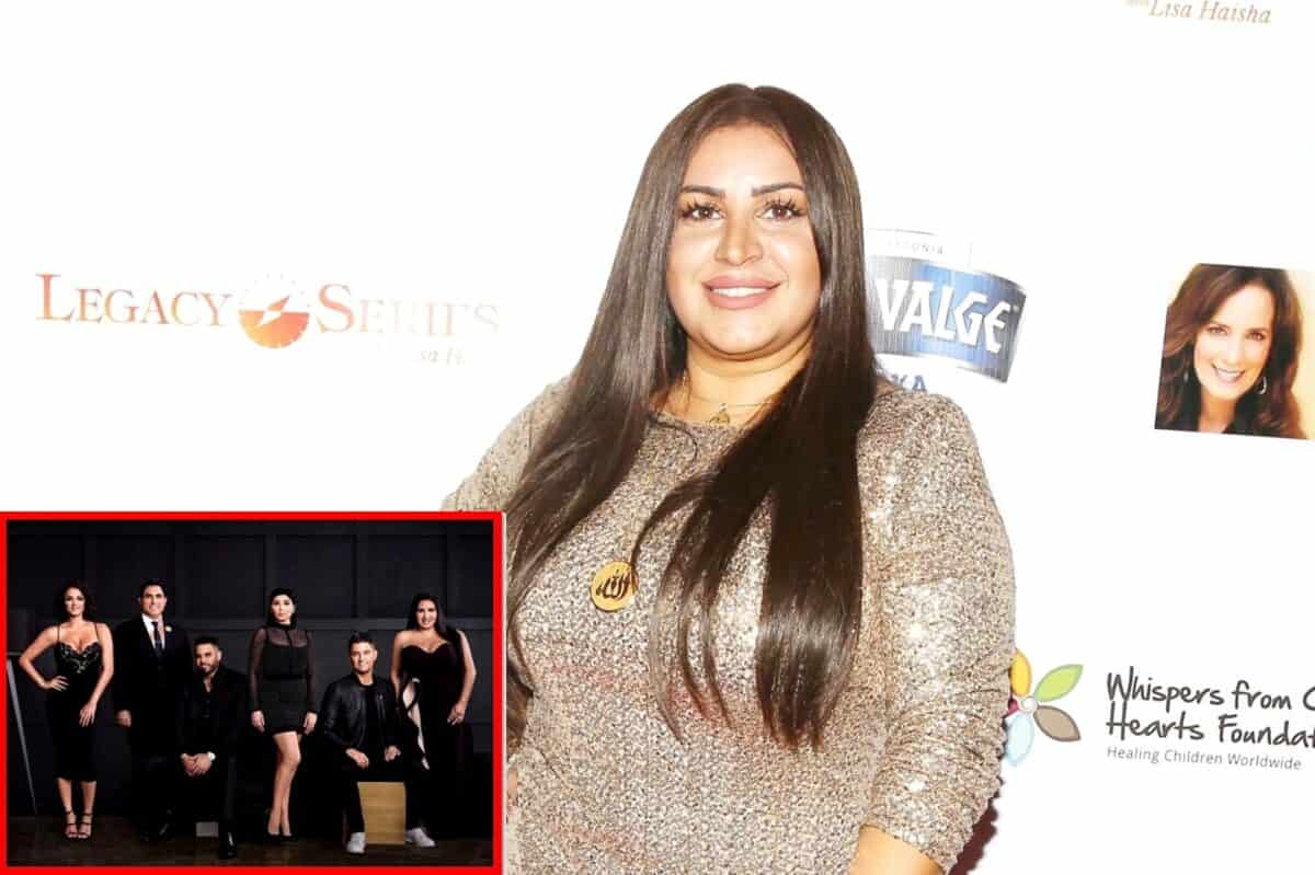 """Mercedes """"MJ"""" Javid Shares if Shahs of Sunset is Returning Next Season and Reveals Plans for More Kids, Plus She Talks Reconciliation With Reza Farahan"""