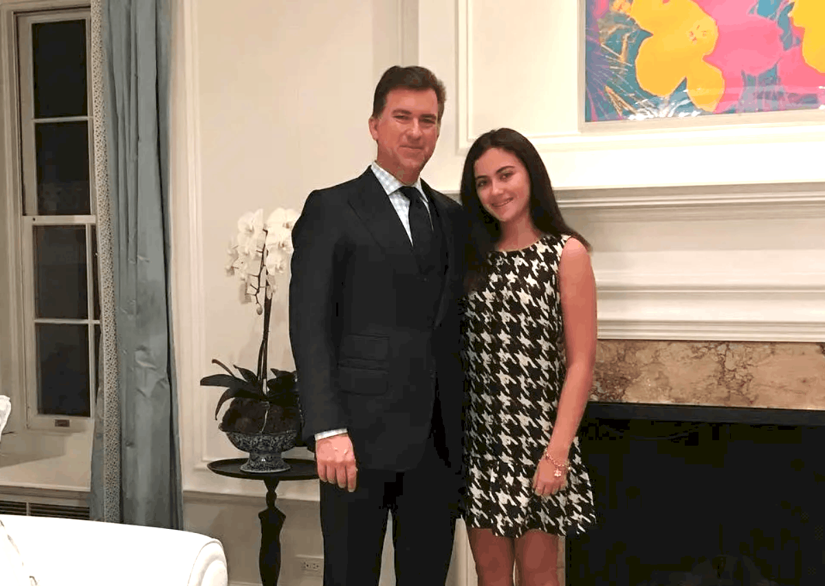 Sutton Stracke Ex-Husband Christian Stracke Daughter