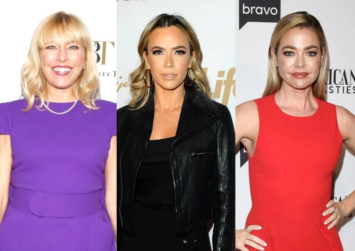 "Sutton Stracke Slams Teddi Mellencamp For Her Behavior on RHOBH: ""Why Is This Necessary?"" Plus She Talks Standing Up For Denise Richards Amid Brandi Rumors"