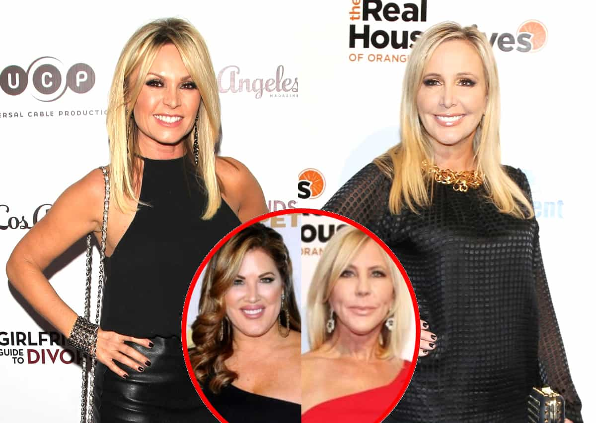 "Tamra Judge Accuses Shannon Beador of ""Talking Badly"" About Her on New RHOC Season, Plus Emily Simpson Fires Back at Vicki's Claim of Lack of Content"