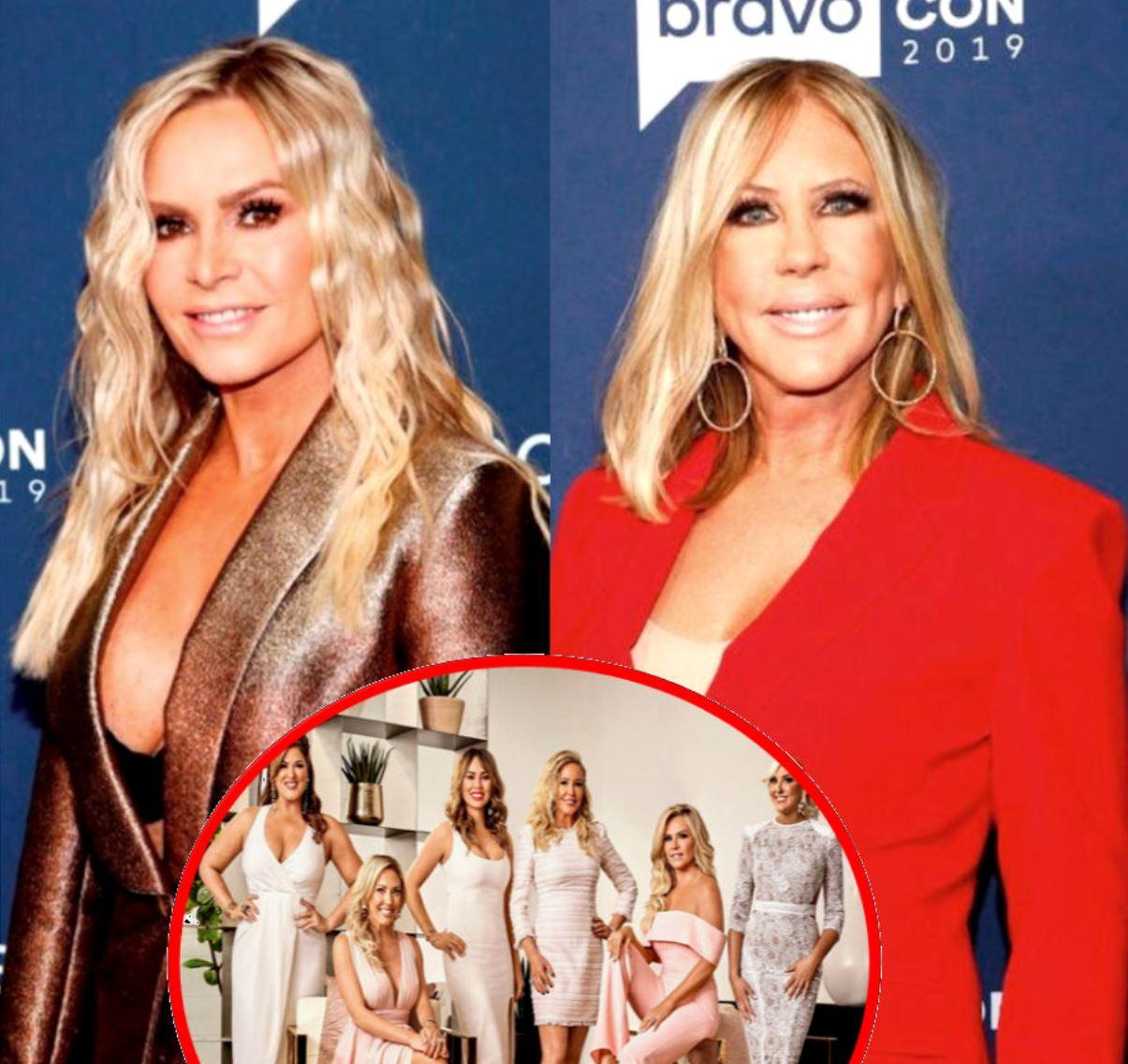 "Former Reality Stars Tamra Judge and Vicki Gunvalson Shade RHOC For Shortened Season and Exclusion as Vicki Calls Cast ""Fake B--ches"""