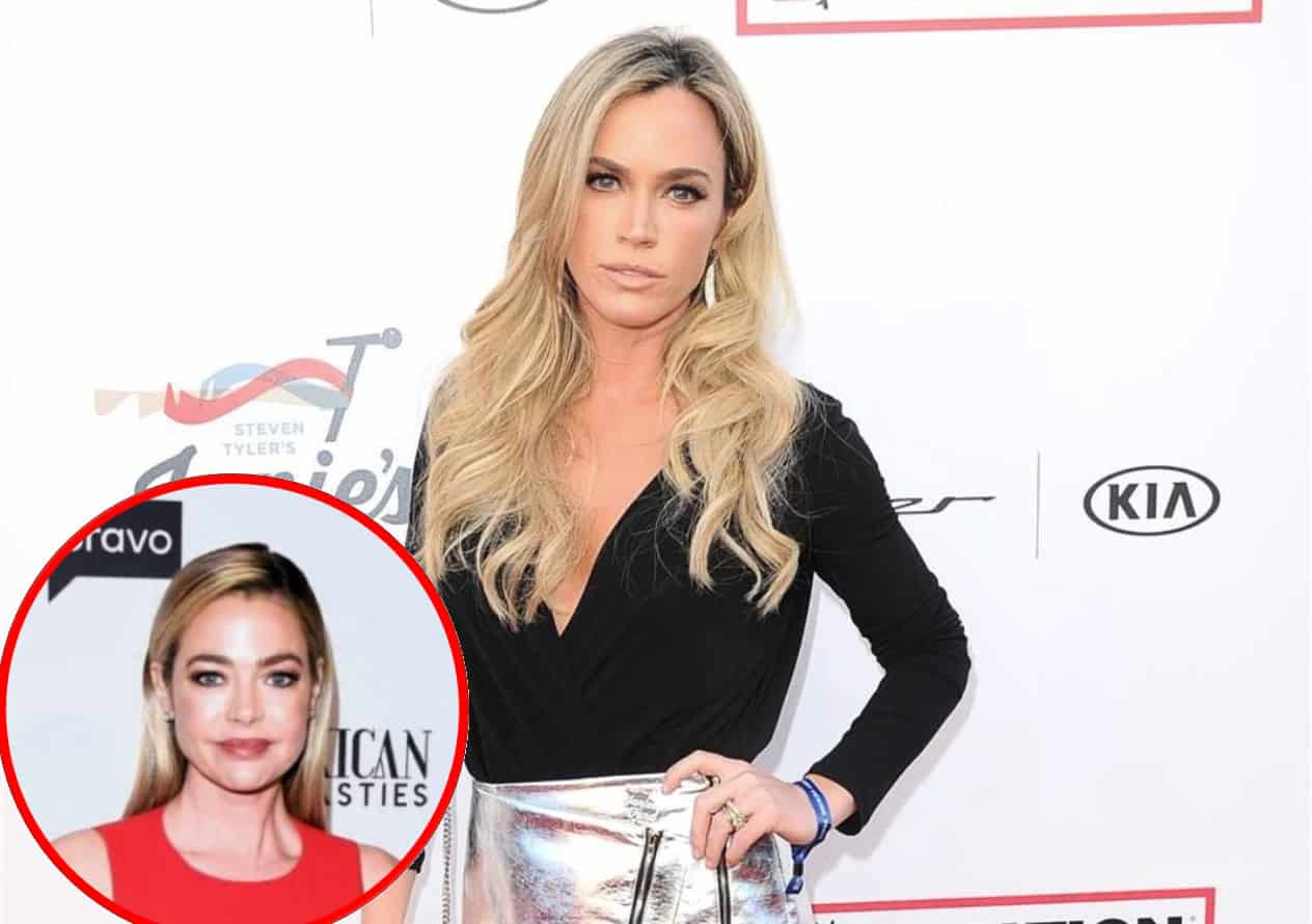 RHOBH's Teddi Mellencamp Admits She's a 'Pot Stirrer' and Explains Why She Confronted Denise Richards About Brandi Rumors, Insists She Hasn't Changed Since First Season Plus Live Viewing Thread!