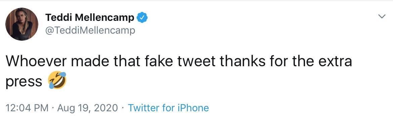 RHOBH Teddi Mellencamp Dishes on Extra Press After Fake Quitting Tweet