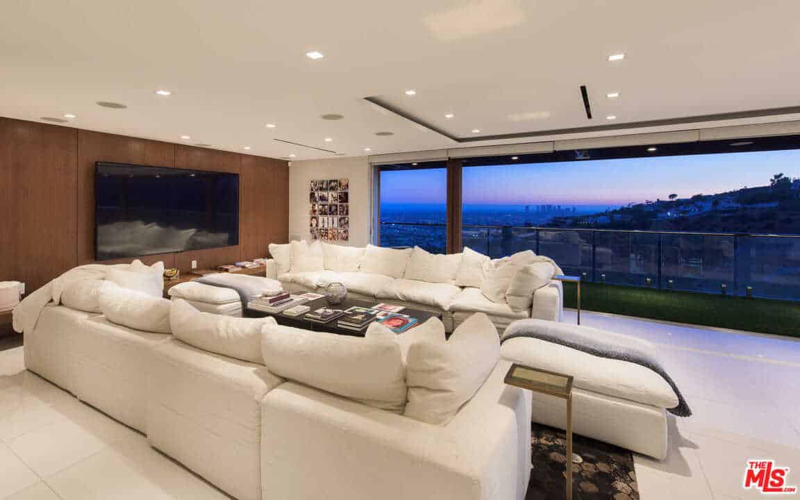 RHOBH Teddi Mellencamp Living Room