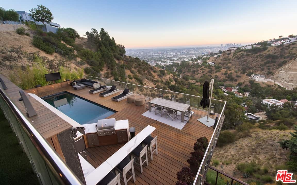 RHOBH Teddi Mellencamp Patio