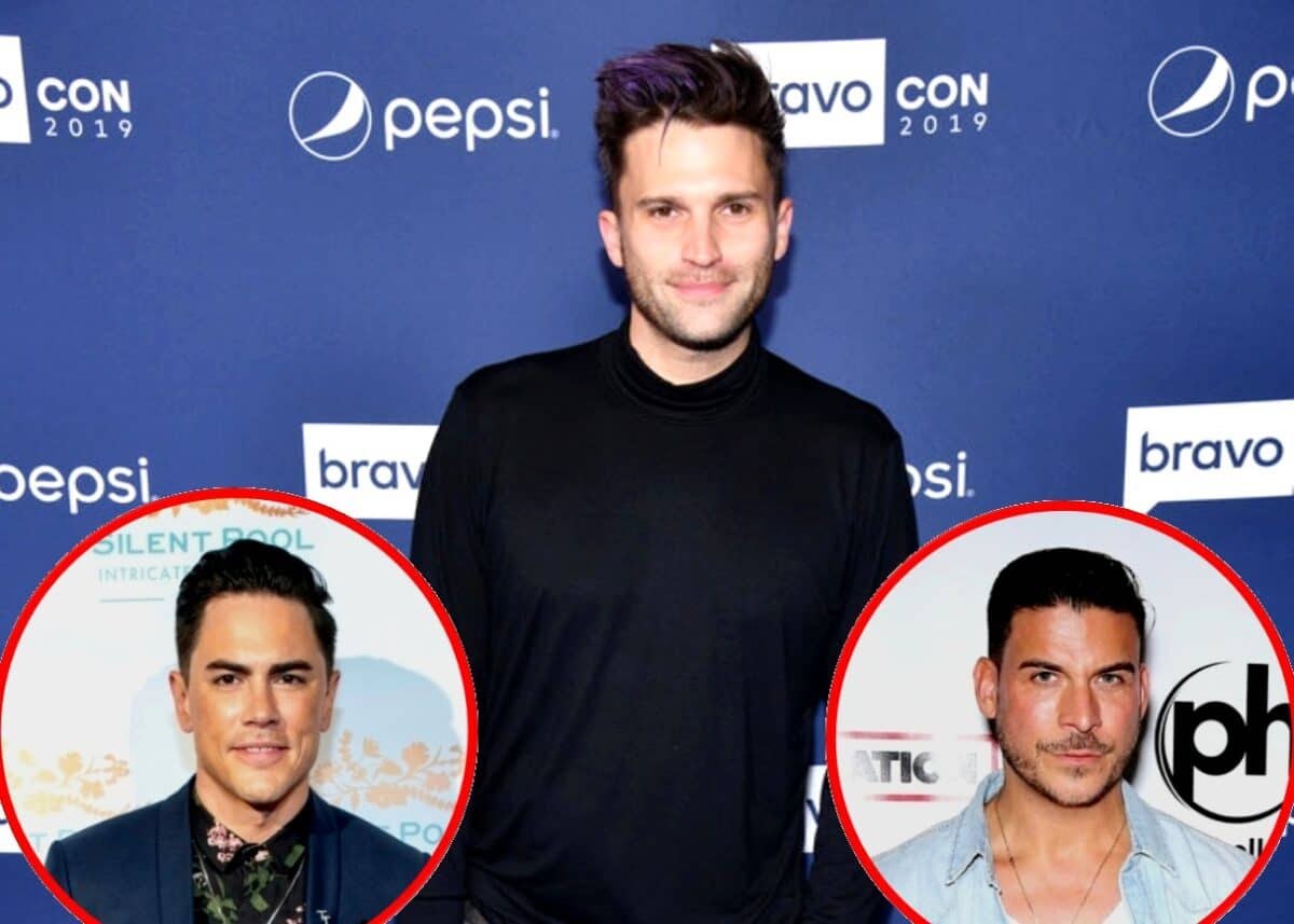 """Tom Schwartz Reveals the Hardest Scene of Vanderpump Rules and Says He's """"Doing Some Work"""" to Repair Jax and Tom Sandoval's Friendship, Plus He States He and Katie Are """"Flourishing"""" in Marriage Amid Pandemic"""