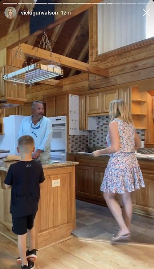 RHOC Vicki Gunvalson Lake House Kitchen