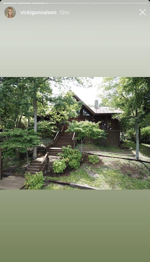 RHOC Vicki Gunvalson New Lake Home Exterior