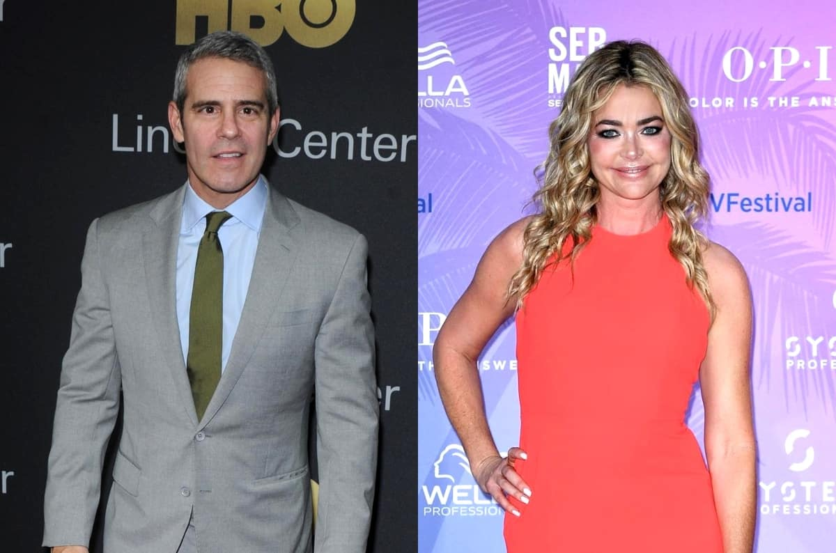 "Andy Cohen Says Denise Richards Was ""Negotiating"" With Bravo for RHOBH Return and Shares What Led to Her Exit, Suspects She Didn't Want to Discuss Alleged Affair With Brandi Due to Her Family"