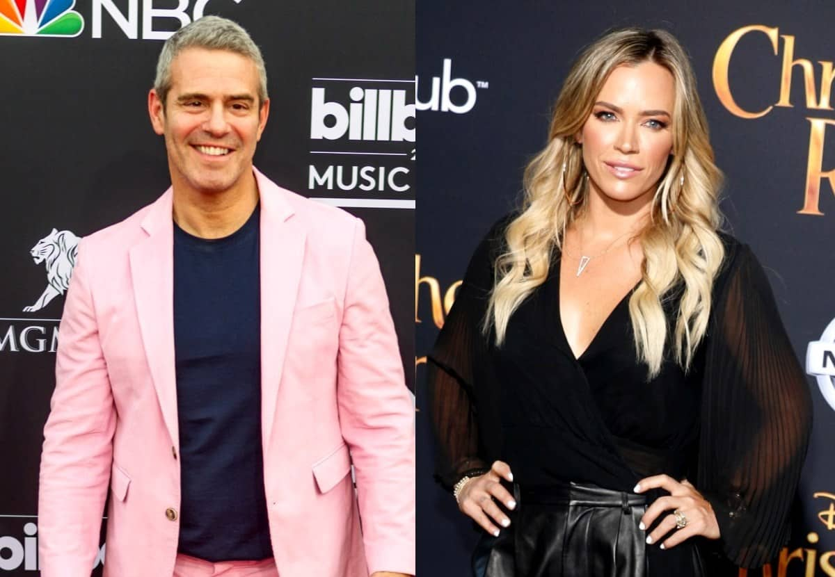 """Andy Cohen Addresses if Teddi Mellencamp's Business Led to Exit From RHOBH as He Reacts to Her Departure, Plus He Applauds Her """"No BS"""" Exit Announcement"""