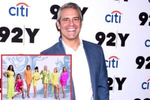 "Andy Cohen Reacts to Backlash Over ""Disturbing"" RHOBH Reunion After Being Accused of Enjoying Seeing Denise Richards Getting ""Bullied"" and Antagonizing Her With Heather Locklear Questions, Plus Reacts to the Real Housewives Losses of the Year"