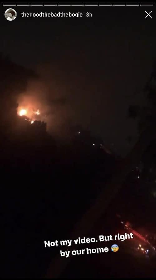 Vanderpump Rules Beau Clark Confirms Fires Are Burning Near Stassi Schroeder's Home