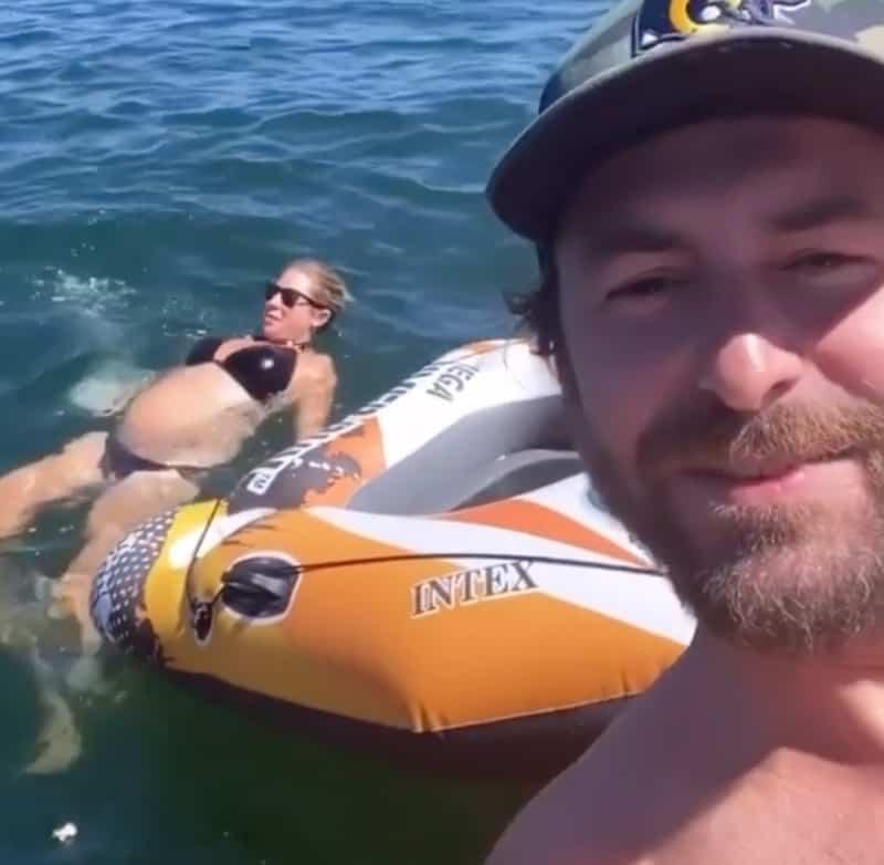 Vanderpump Rules Beau Clark Shares Video of Stassi Schroeder's Baby Bump