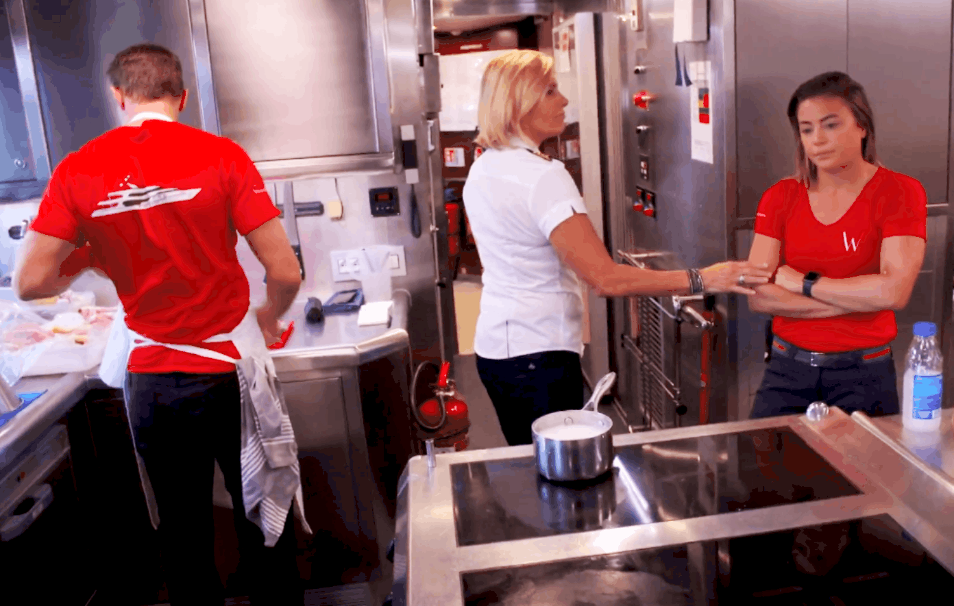 Below Deck Mediterranean Recap: Tom Unravels and Captain Sandy Orders Malia Gets To Stay Out of the Galley
