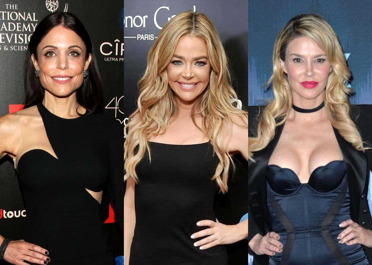 "Bethenny Frankel Clarifies ""Garbage"" Comment About Denise Richards' Drama With Brandi Glanville on RHOBH After Causing a Stir by Sharing a Caroline Manzo Quote, Plus Brandi Responds"