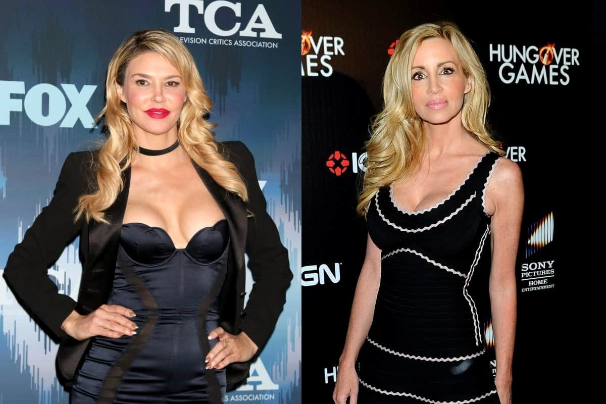 """RHOBH's Brandi Glanville Slams Camille Grammer in Twitter Rant, Accuses Her of Being """"Bitter"""" and Spending """"Unearned Alimony"""""""