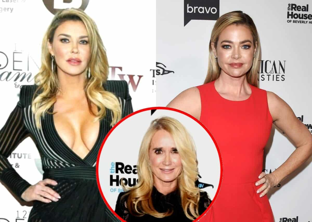 "Brandi Glanville Implies She Has Secret Audio of Denise Richards and Claims RHOBH Star is Threatening Legal Action Over Recording That Would ""Set [Her] Free,"" Plus She Alleges Kim Richards Has Been Missing for Three Weeks"
