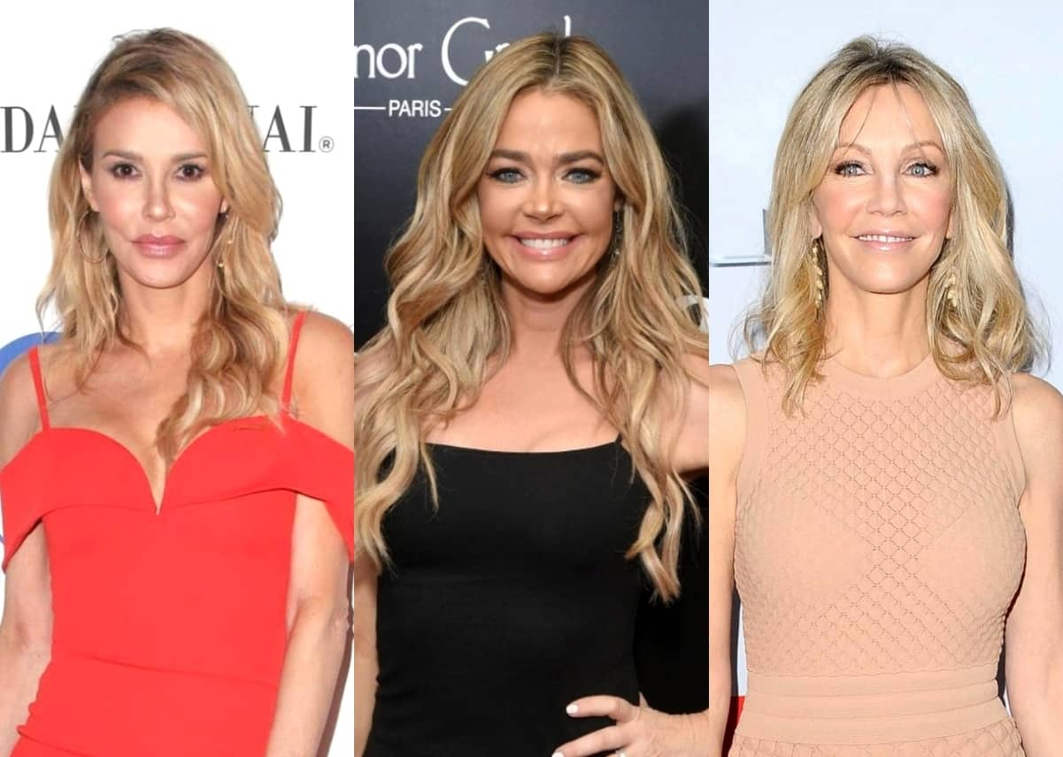 Brandi Glanville Shares the Supportive Message Heather Locklear Sent Her and Claims Denise Richards Also Sent Heather a Cease and Desist Letter, Reveals Which RHOBH Co-Star She'd Hook Up With and More Details About Alleged Affair