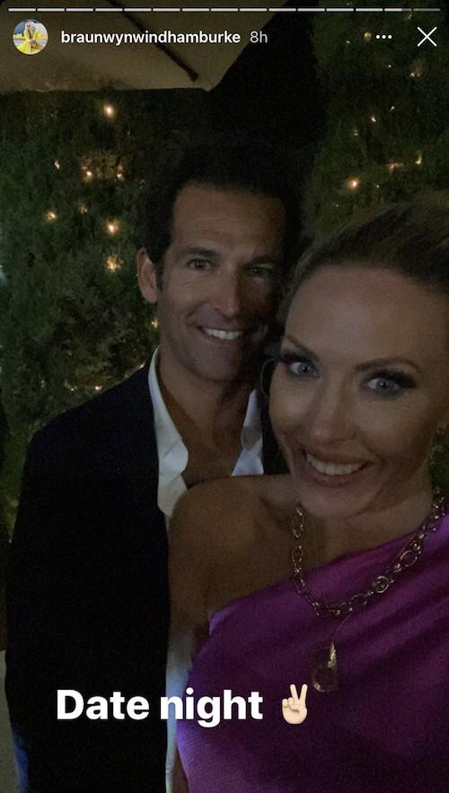 RHOC Braunwyn Windham Burke and Sean Burke Enjoy a Date Night Amid Divorce Rumors