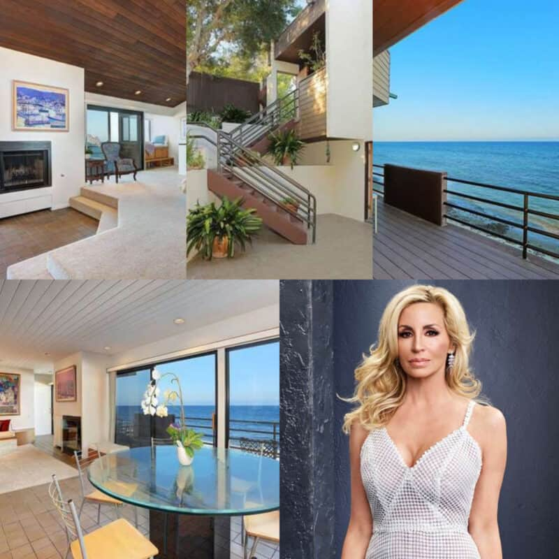 RHOBH Camille Grammer House Collage
