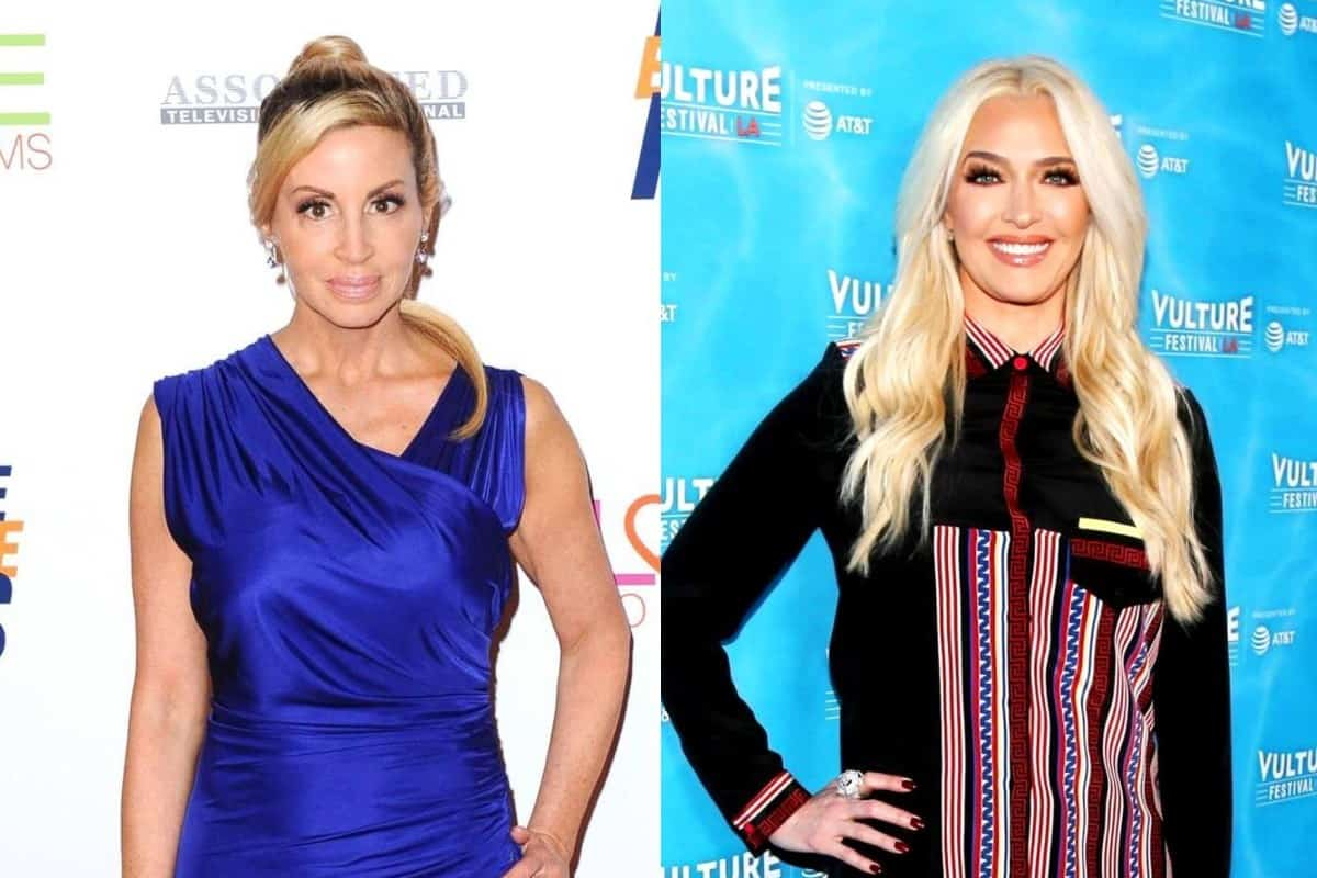 Camille Grammer Accuses Erika Jayne of 'Yelling at Crew and Producers' of RHOBH For Unflattering Scenes, Calls Her Out for Bad Behavior and Agrees With Claims She 'Talked Down' to People