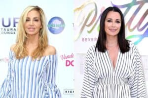 RHOBH's Camille Grammer Shows Text Messages to Prove She Quit Show After Being Asked to Film With Kyle Richards, Suggests Kyle Manipulated Every Season and Accuses Her of Flip-Flopping on Brandi