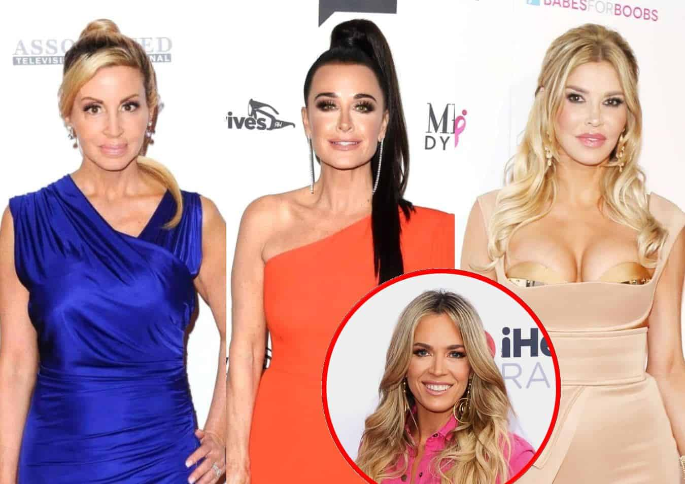 """Camille Grammer Implies Brandi Will Become """"Vile"""" Kyle's New Puppet Following Void Left by Teddi's RHOBH Exit as Brandi Fires Back in Twitter Feud"""