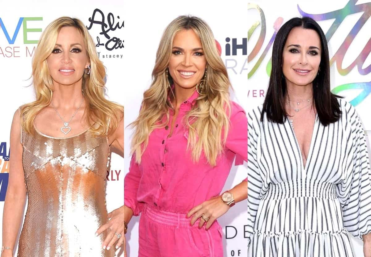 """RHOBH's Camille Grammer Slams Teddi as Kyle's """"Puppet"""" and Confirms She Will Not Return to Show Due to Bullying From """"Mean Girls,"""" Denies She """"Made Out"""" With Brandi and Admits She's Disappointed in Andy"""