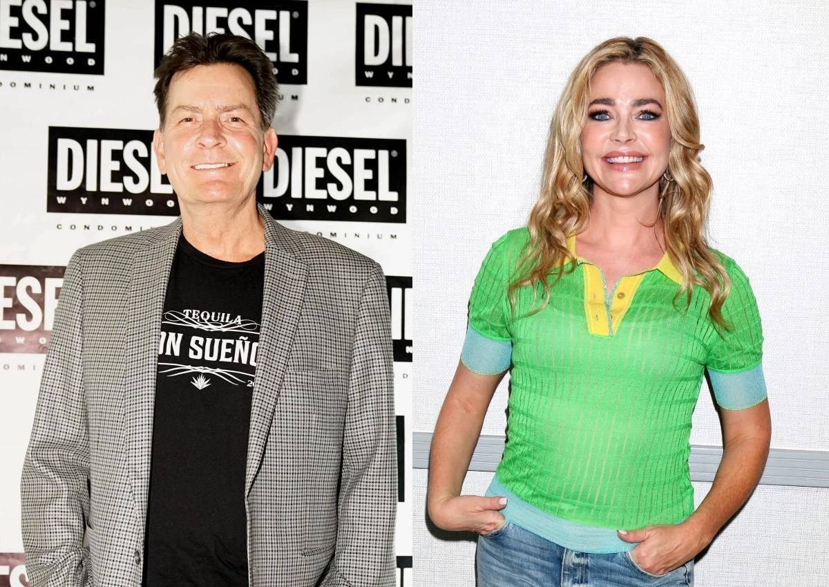 Charlie Sheen Denies Having Anything to Do With Denise Richards' RHOBH Exit, 'Applauds' Ex-Wife's Decision to Quit