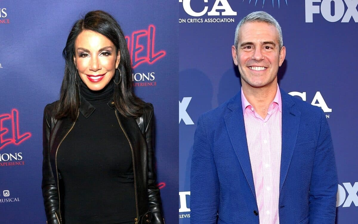 "Danielle Staub's Former Publicist Defends Andy Cohen Against Her ""Disgraceful"" Claims, Says Danielle Was ""Given a Fair Platform"" on RHONJ"