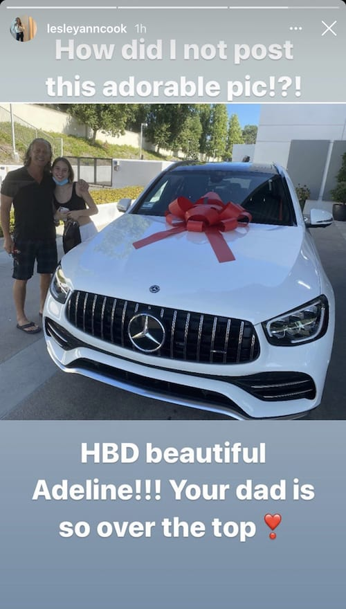 RHOC David Beador Buys Daughter Adeline a Mercedes Benz
