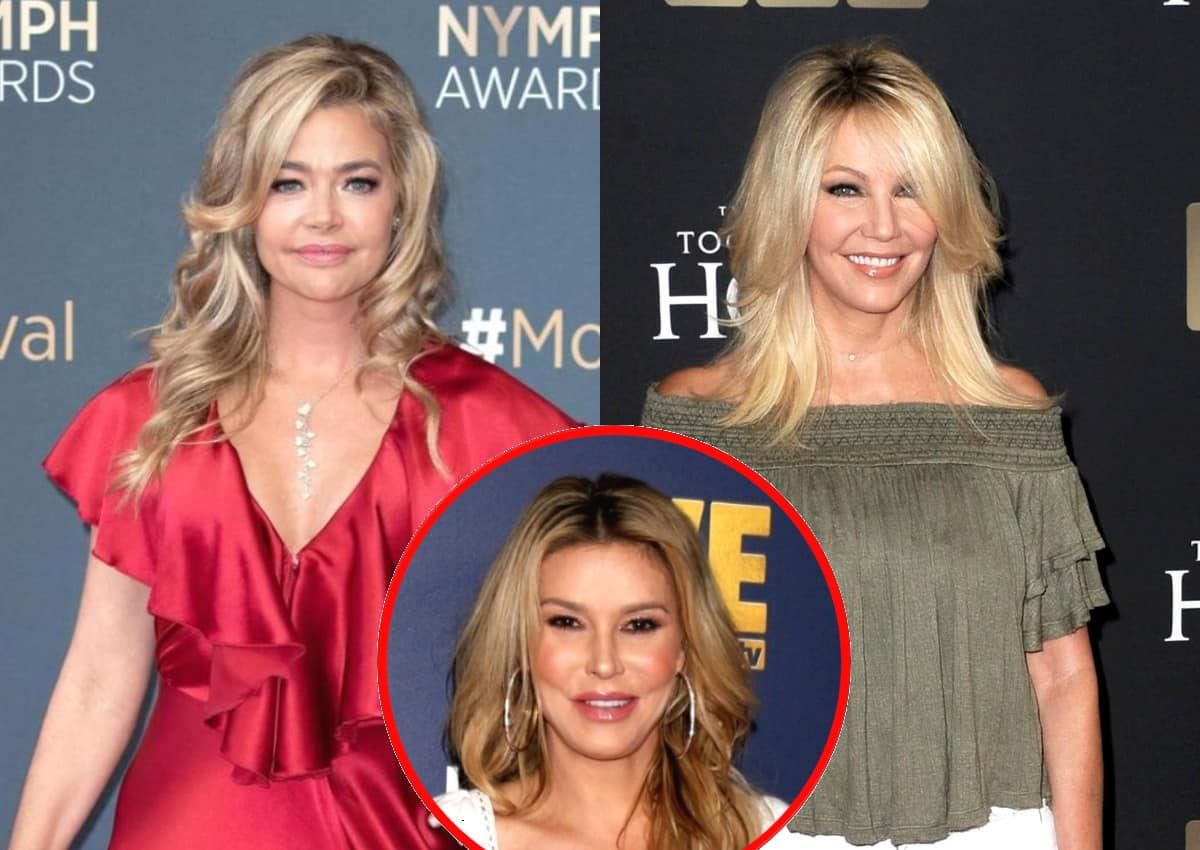 "REPORT: Ex-RHOBH Star Denise Richards ""Never"" Sent a Cease and Desist to Heather Locklear and Wonders If She and Brandi Glanville Were Ever Actually in Contact Amid ""Very False Claims,"" Plus Has No Regrets About Quitting"
