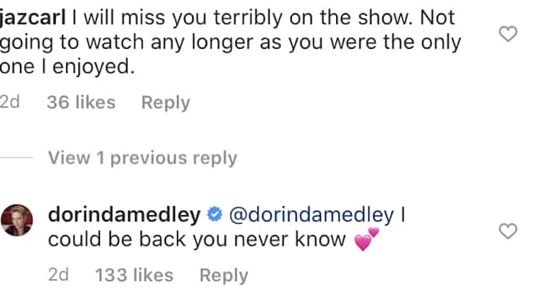Dorinda Medley Teases Possible Return to RHONY