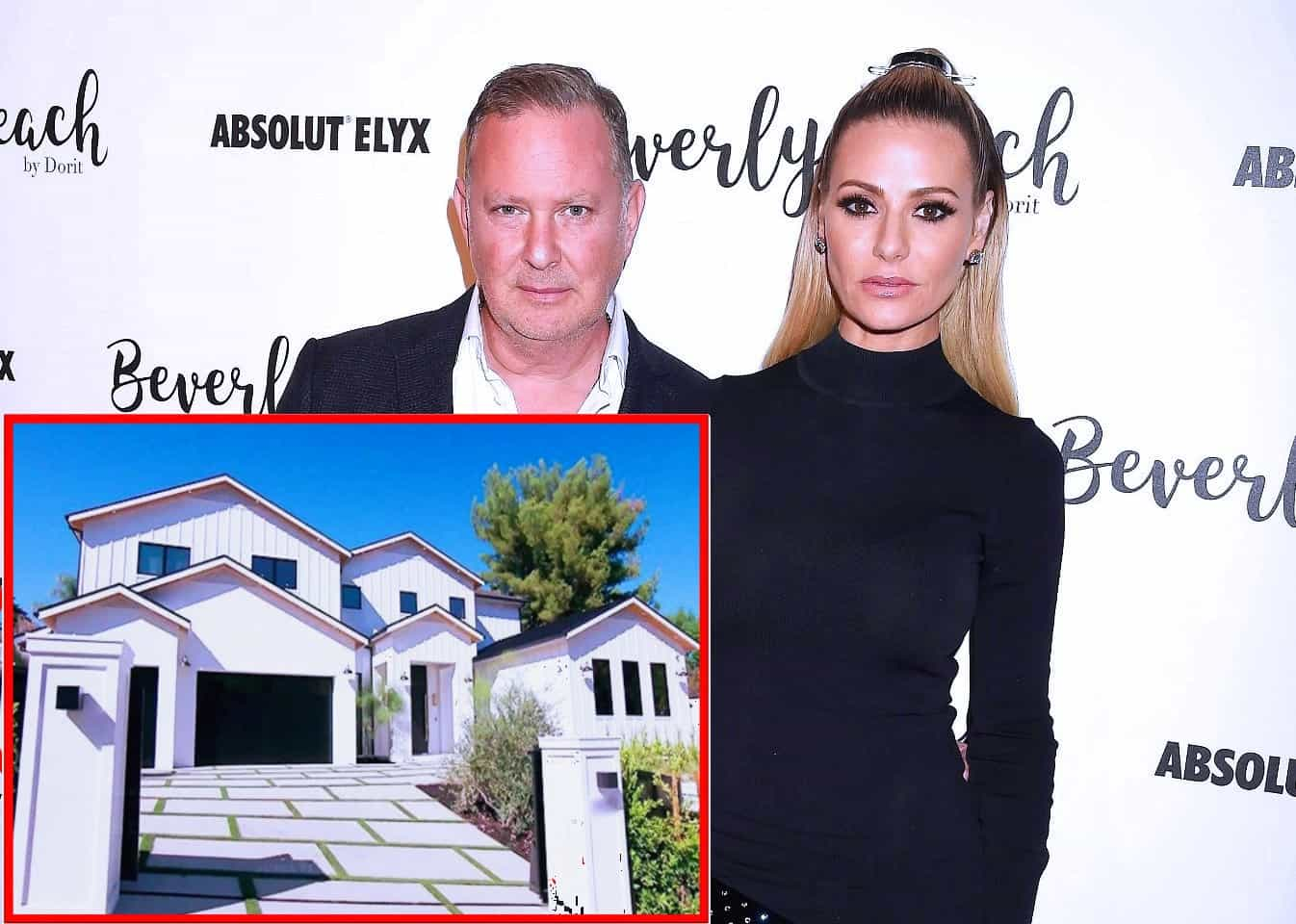 RHOBH's Dorit Kemsley And PK Relist Encino Mansion For $7.9 Million After They Struggled To Unload The Property Last Year For The Same Price