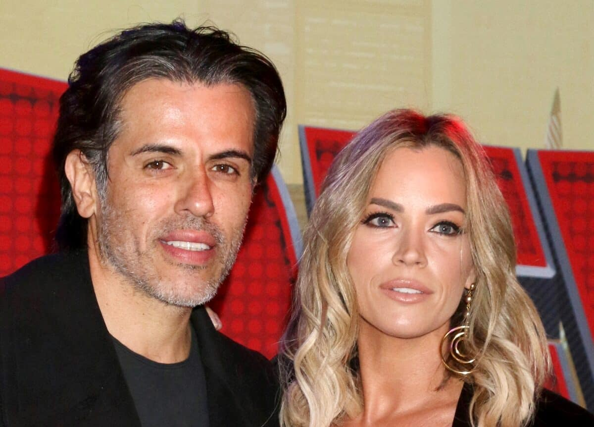 Edwin Arroyave on What He Wishes Viewers Got to See About Teddi Mellencamp on the RHOBH as He Shares Touching Tribute to His Wife Following Her Exit