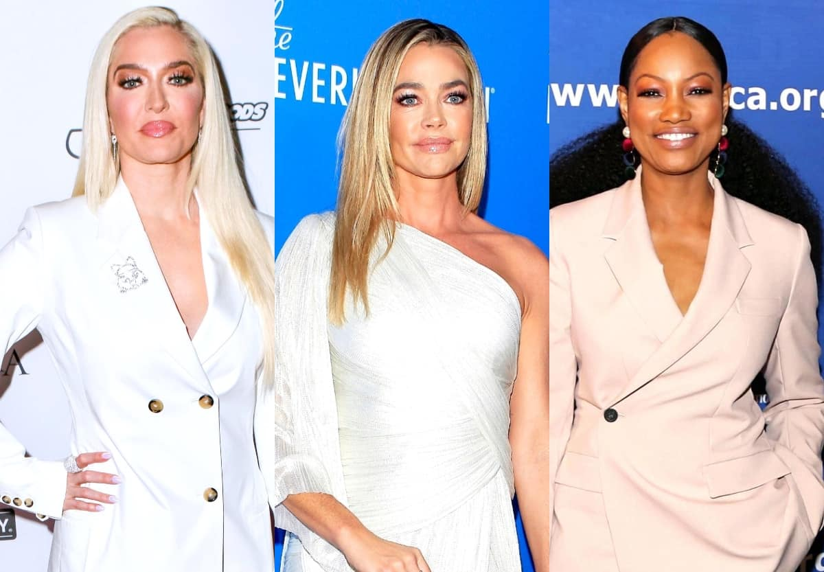 "Erika Jayne Reacts to Denise Leaving the RHOBH With Shady ""Bye"" GIF on Twitter as Garcelle Beauvais Shares a Cryptic Post on Instagram That Has Fans Convinced She's Also Quitting Show"