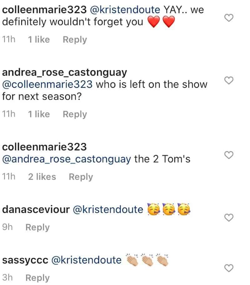 Vanderpump Rules Fans React to Kristen Doute's Potential TV Return