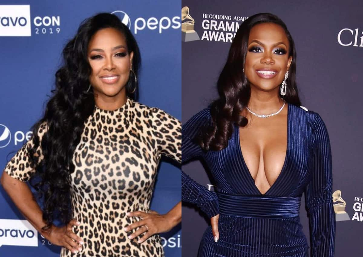 "RHOA's Kenya Moore Says She Gave ""More Than $5000"" To Kandi Burruss' Charity And Defends Decision To Charter Private Jet For Cast Trip"
