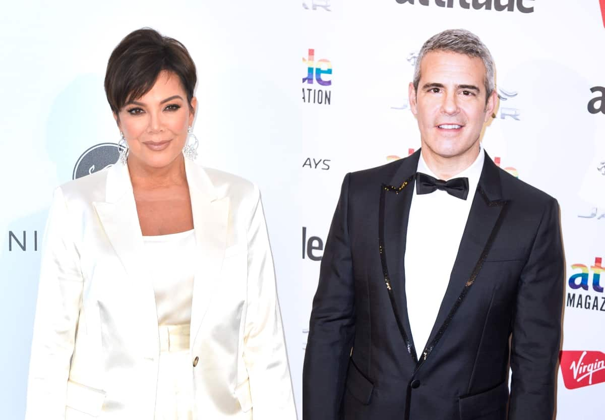 "Kris Jenner Reportedly ""Intrigued"" About Possibly Joining RHOBH as Andy Cohen Weighs In, Revealing the Mixed Reaction From Fans"