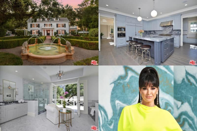 RHOBH Kyle Richards House Collage