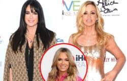 "Kyle Richards Tells Camille Grammer to ""Get a Life""  and ""Move on"" From RHOBH in Twitter Feud After Camille Called Teddi's Business ""Suspect,"" See Camille's Response as Kyle Slams Her as a ""Mean Girl"""